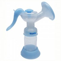 Bambi Breast Pump Manual High-Grade - Alat Pompa ASI Manual BPA Free
