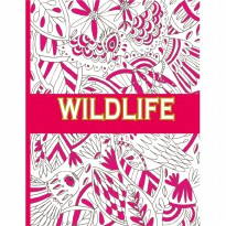 My Craft ST 7786 Wildlife Colouring Books
