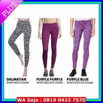 BATIK FASHION [YOGA LEGGING] PREMIUM QUALITY CELANA LEGGING PANJANG SPORT COLLECTION