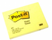3M Post - it 657 Yellow Size 3