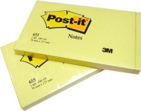 3M Post - it 655 Yellow Size 3