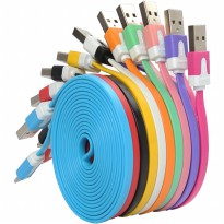 Kabel Data Micro USB Yumoto Rainbow - 1 Meter