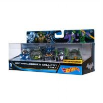 HotWheels Batman & HisVillains Character Car Diecast 5Pack