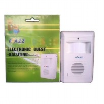 Bel Pintu Sensor Gerak Flazz/Electronic Guest Saluting (Wireless Bell) SJ0041