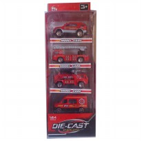Die Cast Set 4 pcs - 4 type- best buy