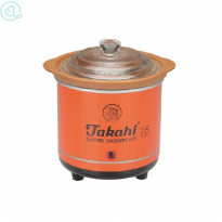 Takahi Slow Cooker 0.7 Liter Red