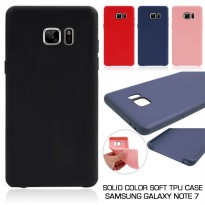 Solid Color Soft TPU Case Samsung Galaxy Note 7 - FE