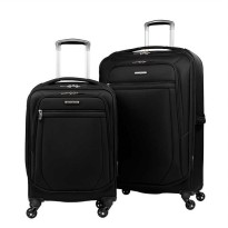 Samsonite Ultralite Extreme 2 Piece Softside Spinner 4 Wheel Luggage S