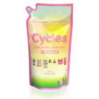 Cycles Mild Laundry Detergent Refill 800ml