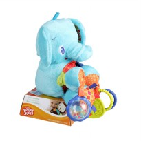 Bright Starts Bunch O Fun Elephant Color Mainan Anak - Blue