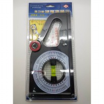 Rotary Angle Meter With Water Pass Busur Derajat