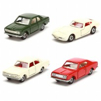 Tomica Nissan Bluebird SSS Coupe/Toyota Crown Super Deluxe/Toyota 2000GT/Toyota Corona - 40th Anniv