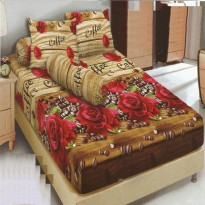 Sprei Kintakun Dluxe 180 Brown Coffee