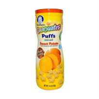 Gerber Graduates Puffs Sweet Potato Snack Bayi