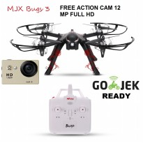 MJX B3 Bugs 3 Brushless Motor with 12MP WIFI ACTION Camera
