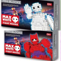 Microblock Baymax (White & Red)