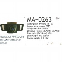 MRZ MA-0263 KAMERA UNIVERSAL FOR TOYOTA CROWN