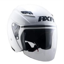 AXR FUSION Helm Open Face - White