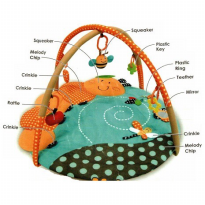 Pumpee Playmate Playmat With Music Catterpillar Mat Wit