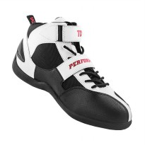 TDR Perfomance Speed Sepatu Boots - Black White