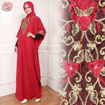 Cj collection Dress maxi panjang gamis kaftan wanita jumbo long Vina