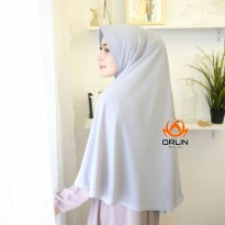 ORLIN KHIMAR AYRA KHIMAR POLOS SIMPLE DAILY BAHAN WOLVIS PET ANTHEM