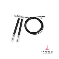HAPPYFIT ADJUSTABLE CROSSFIT SPEED JUMP ROPE