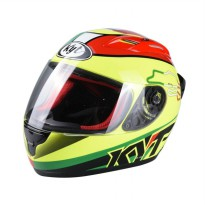 KYT RC Seven #15 Italy Full Face Helm Motor - Yellow