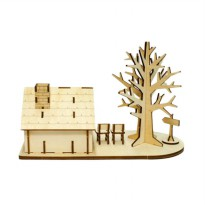 Kigumi Tree House 3D Puzzle