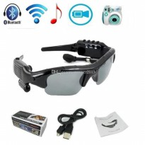 Kamera Kacamata Hitam Spy Cam Mp3 Sunglasses Camera Video Recorder Kaca Mata Perekam Tf Card Slot