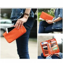 New Dompet Passport Holder travel organizer Organiser Kartu Atm High Quality Multifungsi Serbaguna Best Seller