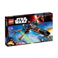 LEGO Poes X-Wing Fighter 75102 Mainan Blok & Puzzle