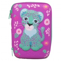 My Style TM 2211 Wild Leopard Hardtop Pencil Case
