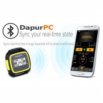 Fitness Activity Tracker Real Time Sync With Smartphone