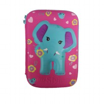 My Style TM 2215 Wild Elephant Hardtop Pencil Case