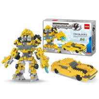Mainan Brick/Block set Bumble Bee Set 2 in 1
