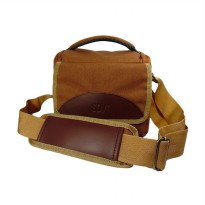SDV MR-503C Tas Kamera - Coklat [Canvas]