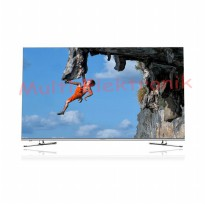 LED TV 4K Smart Coocaa 55' - 55G7200 - SIlver