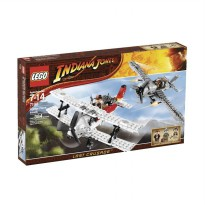 LEGO Fighter Plane Attack 7198 Mainan Anak