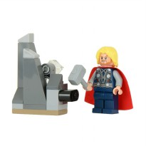 LEGO 30163 Thor and the Cosmic Cube Mainan Anak