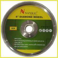 Nankai Batu Poles Akik Diamond Wheel 6' #100