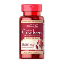 Puritan's Pride One A Day Cranberry 500 mg 120 Capsules