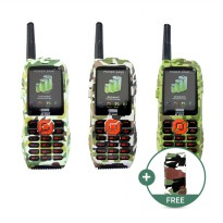 Prince PC 9000 Outdoor Phone 10.000mAh ARMY EDITION