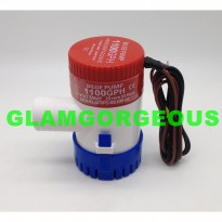 [Ready] Pompa Air Celup BILGE PUMP 1100GPH - 4000Ltr/hr DC12V