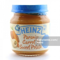 Heinz Parsnip, Carrot & Sweet Potatoes 110gr - 4m+