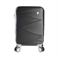 Polo Twin 702 Expandable Trolley Bag - Black [19 Inch]