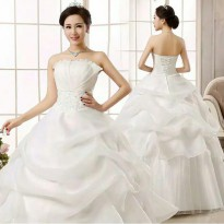 bridal wedding dress baju pengantin