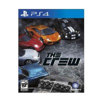 SONY PS4 The Crew DVD Game