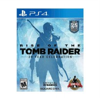 Sony PlayStation 4 Rise Of The Tomb Raider DVD Game