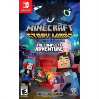 Nintendo Switch Minecraft : Story Mode - The Complete Adventure DVD Game